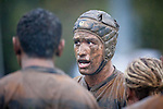 Bombay's Shawn Stewart reflects on the hard fought game in trying conditions as the players leave the field. Counties Manukau Premier Club Rugby game between Patumahoe and Bombay played at the Patumahoe Domain on Saturday June 4th 2011 as part of the Patumahoe 125th Anniversary celebrations. Patumahoe won 24 - 3 after leading 5 - 3 at halftime.