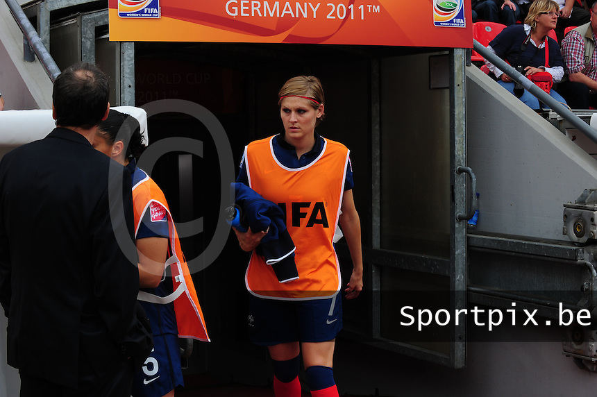 Fifa Women's World Cup Germany 2011 : England - France - at Leverkusen : Corine FRANCO.foto DAVID CATRY / Vrouwenteam.be