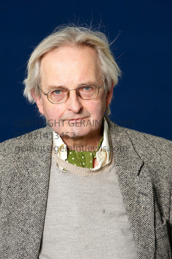 Allan Massie, Scottish author   at The Edinburgh International  Book Festival 2010 .CREDIT Geraint Lewis