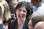 © Joel Goodman - 07973 332324 . 05/05/2017 . Manchester , UK . LUCY POWELL (Labour Party MP for Manchester Central) at the declaration . The count for council and Metro Mayor elections in Greater Manchester at the Manchester Central Convention Centre . Photo credit : Joel Goodman