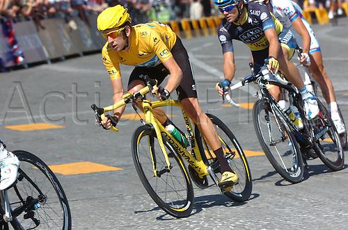 22.07.2012. Rambouillet to Paris, France.  Stage 20. Rambouillet - Paris, Team Sky 2012, Wiggins Bradley arrives in Paris