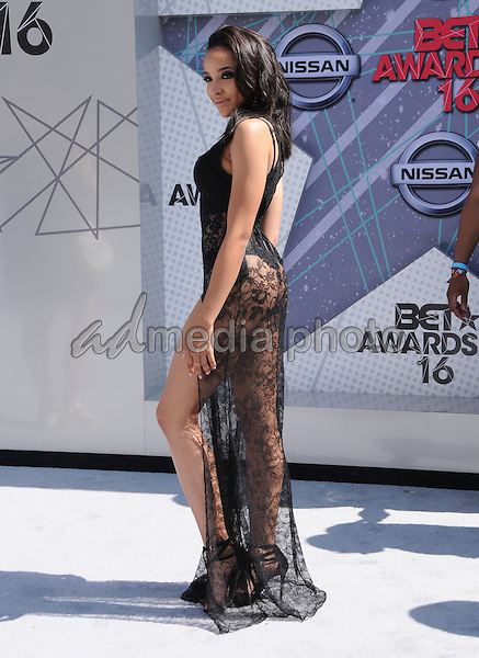 26 June 2016 - Los Angeles. Tinashe. Arrivals for the 2016 BET Awards held at the Microsoft Theater. Photo Credit: Birdie Thompson/AdMedia
