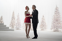 A Very Murray Christmas (2015)<br /> Miley Cyrus &amp; Bill Murray<br /> *Filmstill - Editorial Use Only*<br /> CAP/KFS<br /> Image supplied by Capital Pictures