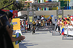 Bert-Jan Lindeman (NED) Team LottoNL-Jumbo during Stage 1 of the La Vuelta 2018, an individual time trial of 8km running around Malaga city centre, Spain. 25th August 2018.<br /> Picture: Ann Clarke | Cyclefile<br /> <br /> <br /> All photos usage must carry mandatory copyright credit (© Cyclefile | Ann Clarke)