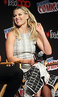 NEW YORK, NY-October 07: Ali Larter at ComicCon 2016: Resident Evil: The Final Chapter panel at Madison Square Garden in New York.October 07, 2016. Credit:RW/MediaPunch