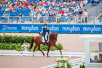 NED-Madeleine Witte-Vrees rides Cennin during the FEI World Team Championship Grand Prix Dressage. 2018 FEI World Equestrian Games Tryon. Wednesday 12 September. Copyright Photo: Libby Law Photography