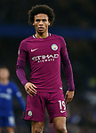 Leroy Sane of Manchester City during the premier league match at the Stamford Bridge stadium, London. Picture date 30th September 2017. Picture credit should read: Robin Parker/Sportimage