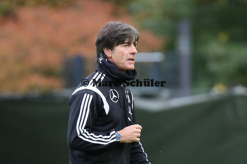 Bundestrainer Joachim Löw- Training der Deutschen Nationalmannschaft in Frankfurt