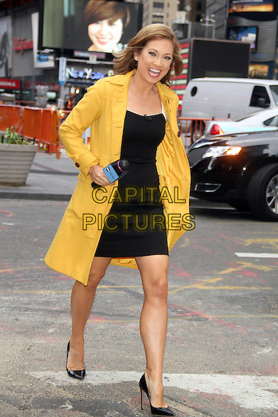 NEW YORK, NY - MAY 29: Ginger Zee at ABC's Good Morning America in New York City on May 29, 2014.  <br /> CAP/MPI/RW<br /> &copy;RW/ MediaPunch/Capital Pictures
