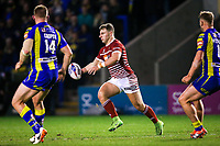 Picture by Alex Whitehead/SWpix.com - 09/03/2017 - Rugby League - Betfred Super League - Warrington Wolves v Wigan Warriors - Halliwell Jones Stadium, Warrington, England - Wigan's George Williams in action.