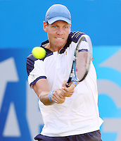 Tomas Berdych (Czech Republic) during his match versus James Duckworth (Australia) - Aegon Tennis Championships - 10/06/14 - MANDATORY CREDIT: Rob Newell - Self billing applies where appropriate - 07808 022 631 - robnew1168@aol.com - NO UNPAID USE - BACS details for payment: Rob Newell A/C 11891604 Sort Code 16-60-51