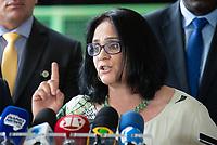 BRASILIA, DF, 06.12.2018 - DAMARES-CCBB-   Damares Alves, futura ministra dos Direitos Humanos, durante entrevista no CCBB, onde ocorre a transição do Governo, nesta quinta, 06.(Foto:Ed Ferreira/Brazil Photo Press)