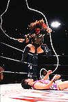 Bull Nakano, Shinobu Kandori,<br /> JULY 14, 1994 - Pro-Wrestling : LLPW Lady's Legend Pro-Wrestling event in Japan.<br /> (Photo by Yukio Hiraku/AFLO)