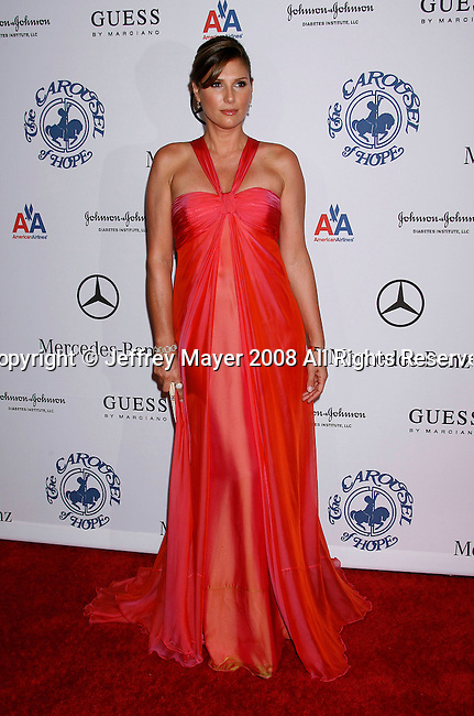 BEVERLY HILLS, CA. - October 25: Actress Daisy Fuentes  arrives at The 30th Anniversary Carousel Of Hope Ball at The Beverly Hilton Hotel on October 25, 2008 in Beverly Hills, California.