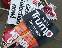JUN 4 Discarded Anti Trump Placards
