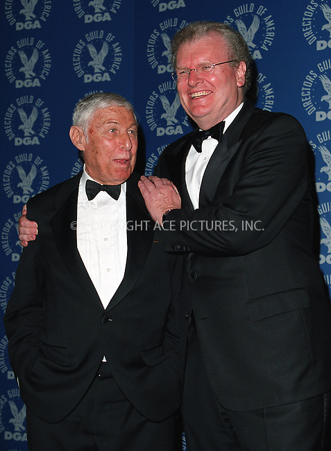 Don Hewitt and Howard Stringer, who is Chairman and CEO of Sony Corporation of America at the 3rd Annual Directors Guild of America Awards. New York, June 9, 2002. Please byline: Alecsey Boldeskul/NY Photo Press.   ..*PAY-PER-USE*      ....NY Photo Press:  ..phone (646) 267-6913;   ..e-mail: info@nyphotopress.com