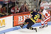 Brendan Ellis (Merrimack - 22), Sahir Gill (BU - 28) - The visiting Merrimack College Warriors tied the Boston University Terriers 1-1 on Friday, November 12, 2010, at Agganis Arena in Boston, Massachusetts.