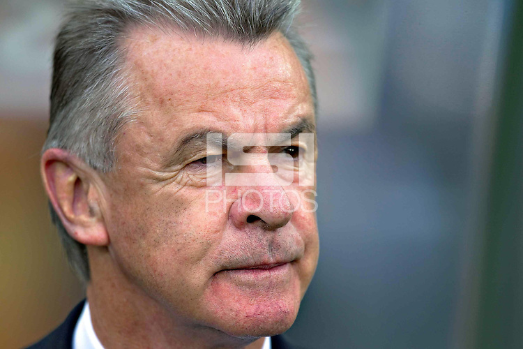 Ottmar Hitzfeld coach of Switzerland.