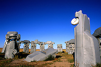 Obscure Carhenge designed 1987 by a Reindeers family in Alliance Nebraska