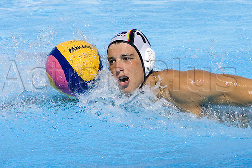 26 07 2009  Moritz Oeler ger Swimming World Cup in Rome  Waterpolo Eighth finals Germany vs Montenegro mens Waterpolo World Cup Rome .