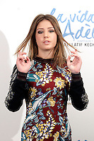 Actress Adele Exarchopoulos attends 'La Vida De Adele' (Blue Is The Warmest Color) photocall at the Santo Mauro Hotel on October 22, 2013 in Madrid, Spain. (ALTERPHOTOS/Victor Blanco)