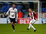 John Fleck of Sheffield Utd  during the Championship match at the Macron Stadium, Bolton. Picture date 12th September 2017. Picture credit should read: Simon Bellis/Sportimage