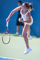 NEW YORK, NY – AUGUST 25: Camila Giorgi (ITA) competes in the day session of the first round of the 2014 US Open.
