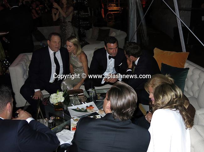 EXCLUSIVE: Sponsored by FIJI Water.<br />Beverly Hilton Hotel.<br />Trader Vic's<br /><br />Pictured: Harvey Weinstein, Naomi Watts, Live Schreiber, Leonardo DiCaprio,<br />Ref: SPL680645  120114   EXCLUSIVE<br />Picture by: CelebrityVibe / Splash News<br /><br />Splash News and Pictures<br />Los Angeles:310-821-2666<br />New York:212-619-2666<br />London:870-934-2666<br />photodesk@splashnews.com