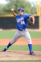 Willian Avinizar - Kansas City Royals - 2010 Instructional League.Photo by:  Bill Mitchell/Four Seam Images..
