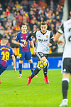 Fabian Ariel Orellana Valenzuela of Valencia CF runs with the ball during the La Liga 2017-18 match between Valencia CF and FC Barcelona at Estadio de Mestalla on November 26 2017 in Valencia, Spain. Photo by Maria Jose Segovia Carmona / Power Sport Images