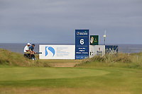 The 6th tee during Round 3 of the Dubai Duty Free Irish Open at Ballyliffin Golf Club, Donegal on Saturday 7th July 2018.<br /> Picture:  Thos Caffrey / Golffile
