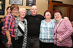 Lorina Nash, Joan Floyd, Joey Lynch, Caroline McCormack and Jacinta Keegan in the Thatch...(Photo credit should read Jenny Matthews www.newsfile.ie)....This Picture has been sent you under the conditions enclosed by:.Newsfile Ltd..The Studio,.Millmount Abbey,.Drogheda,.Co Meath..Ireland..Tel: +353(0)41-9871240.Fax: +353(0)41-9871260.GSM: +353(0)86-2500958.email: pictures@newsfile.ie.www.newsfile.ie.