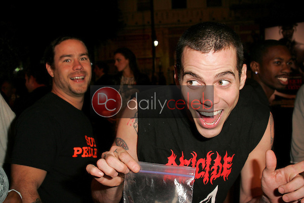 Steve-O<br />at the world premiere of &quot;Get Rich Or Die Tryin&quot;. Graumans Chinese Theatre, Hollywood, CA. 11-02-05<br />Dave Edwards/DailyCeleb.com 818-249-4998
