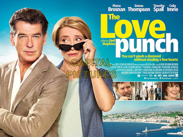 BRITISH POSTER ART<br /> in The Love Punch (2013) <br /> *Filmstill - Editorial Use Only*<br /> CAP/FB<br /> Image supplied by Capital Pictures
