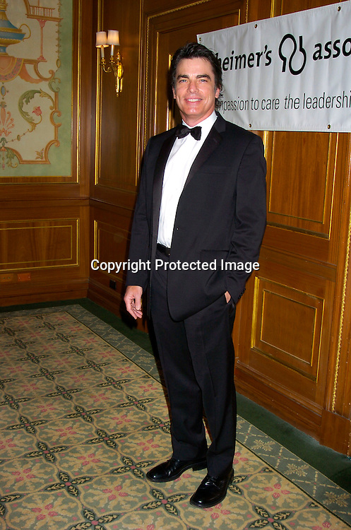 Peter Gallagher ..at The Forget-Me-Not Gala Benefiting the Alzheimer's ..Association, NYC Chapter on June 2, 2004 at the ..Pierre Hotel. ..Photo by Robin Platzer, Twin Images