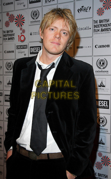 KRIS MARSHALL.The British Independent Film Awards, The Roundhouse, Chalk Farm, London, England. .November 28th, 2007 .half length chris black suit jacket tie .CAP/ROS.©Steve Ross/Capital Pictures