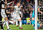 Lucas Vazquez of Real Madrid celebrates during the La Liga match between Real Madrid and RC Deportivo La Coruna at the Santiago Bernabeu Stadium on 10 December 2016 in Madrid, Spain. Photo by Diego Gonzalez Souto / Power Sport Images