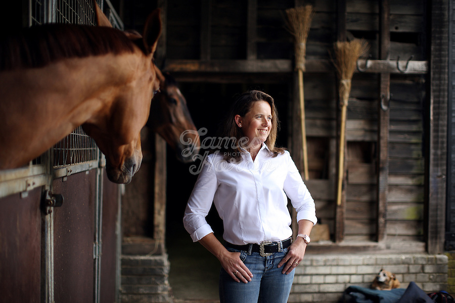 Pippa Funnell is an equestrian sportswoman, regarded as one of the Eventing's sporting elite. She competes in three-day eventing. In 2003 became the first person and currently only person to win Eventing's greatest prize, the Rolex Grand Slam of eventing.