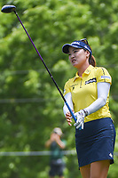 So Yeon Ryu (KOR) watches her tee shot on 11 during round 4 of the 2018 KPMG Women's PGA Championship, Kemper Lakes Golf Club, at Kildeer, Illinois, USA. 7/1/2018.<br /> Picture: Golffile | Ken Murray<br /> <br /> All photo usage must carry mandatory copyright credit (&copy; Golffile | Ken Murray)