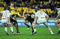 Ricky Riccitelli during the Super Rugby semifinal match between the Hurricanes and Chiefs at Westpac Stadium, Wellington, New Zealand on Saturday, 30 July 2016. Photo: Dave Lintott / lintottphoto.co.nz