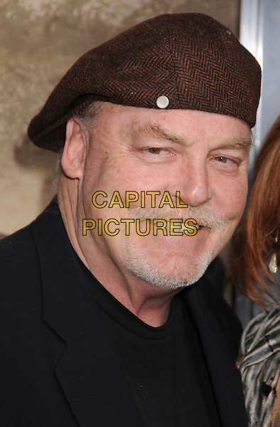 """STACY KEACH.Braeden's """"The Man Who Came Back"""" Premiere held at the Aero Theater, Santa Monica, California, USA, .08 February 2008..portrait headshot cap hat.CAP/ADM/BP.?Byron Purvis/Admedia/Capital PIctures"""