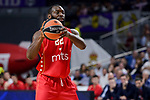Crvena Zvezda Mts Belgrade's Charles Jenkins during Turkish Airlines Euroleague match between Real Madrid and Crvena Zvezda Mts Belgrade at Wizink Center in Madrid, Spain. March 10, 2017. (ALTERPHOTOS/BorjaB.Hojas)