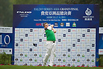 Jack Colegate of England during the 2011 Faldo Series Asia Grand Final on the Faldo Course at Mission Hills Golf Club in Shenzhen, China. Photo by Raf Sanchez / Faldo Series