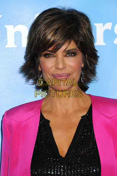 Lisa Rinna.NBC Universal 2013 Winter Press Tour - Day 1 held at the Langham Huntington Hotel & Spa, Pasadena, California, USA..January 6th, 2013.headshot portrait black pink blazer top  .CAP/ADM/BP.©Byron Purvis/AdMedia/Capital Pictures.