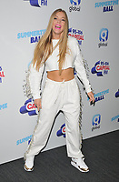 Becky Hill at the Capital FM Summertime Ball 2019, Wembley Stadium, Wembley, London, England, UK, on Saturday 08th June 2019.<br /> CAP/CAN<br /> ©CAN/Capital Pictures
