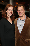 "Jessie Austrian and Noah Brody Attends the Broadway Opening Night of ""All My Sons"" at The American Airlines Theatre on April 22, 2019  in New York City."