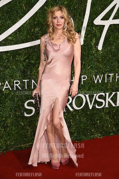 Courtney Love arrives for British Fashion Awards 2014 at the London Coliseum, Covent Garden, London. 01/12/2014 Picture by: Steve Vas / Featureflash