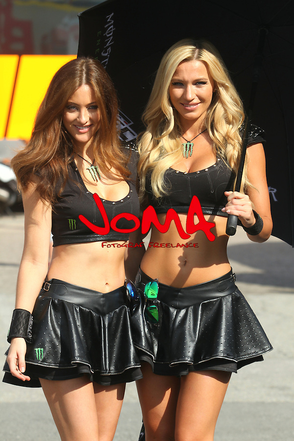 14.06.2015 Montmelo. GP Monster Energy de Catalunya. Picture show paddock girls