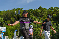 Jimmy Walker (USA) &quot;flies&quot; down 14 during round 2 of the AT&amp;T Byron Nelson, Trinity Forest Golf Club, at Dallas, Texas, USA. 5/18/2018.<br /> Picture: Golffile | Ken Murray<br /> <br /> <br /> All photo usage must carry mandatory copyright credit (&copy; Golffile | Ken Murray)