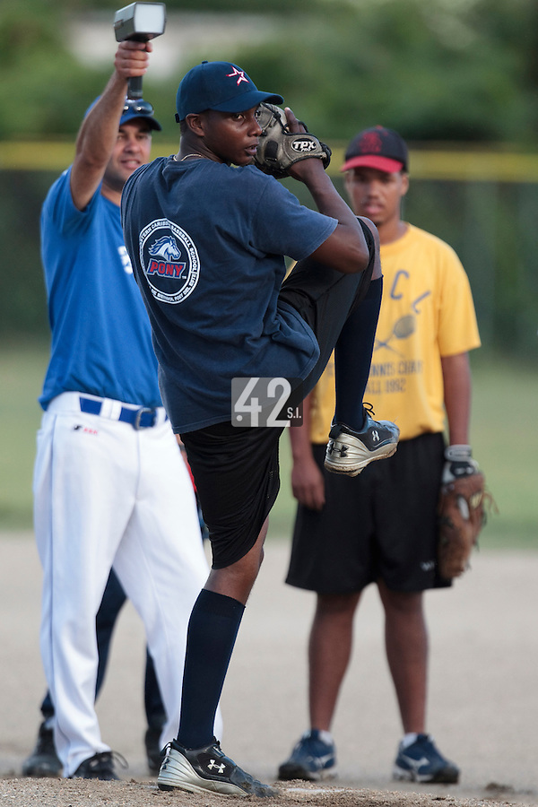 07 May 2010: Jabalera Jairo is seen during a tryout for Team France, in St Maarten, Netherlands Antilles.